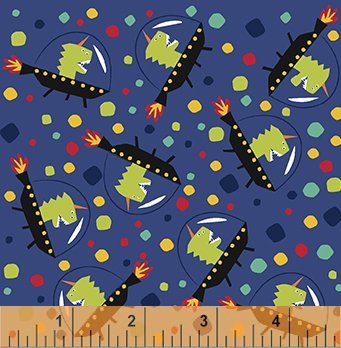 43233-6 Aliens by Windham Fabrics