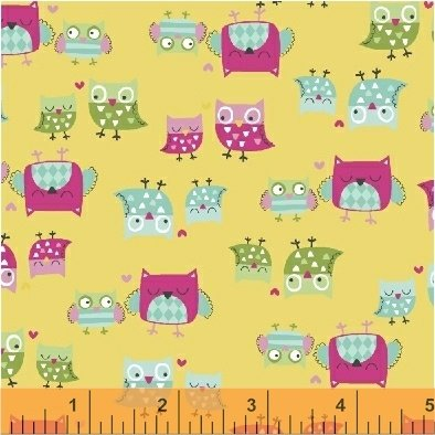 43243-3 It's a Hoot by Windham Fabrics