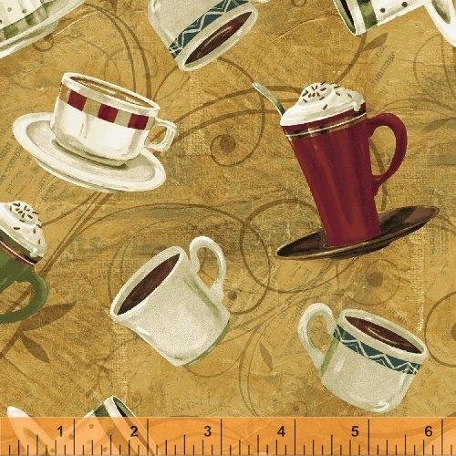 43259-2  International Coffee by Windham Fabrics