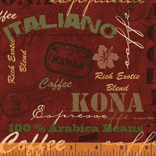 43260-3  International Coffee by Windham Fabrics