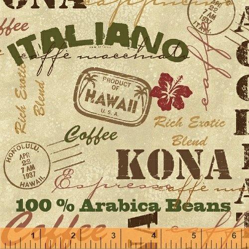 43260-4  International Coffee by Windham Fabrics