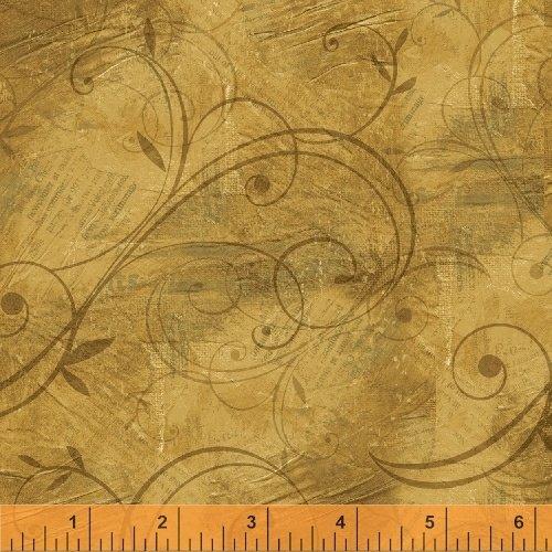 43262-2 International  Coffee by Windham Fabrics