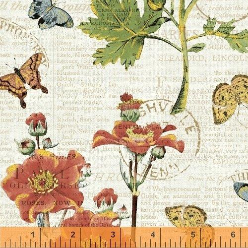 43384M-1 Bookshelf Botanicals by Windham Fabrics