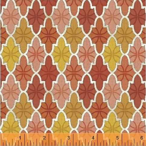 43386-4 Bookshelf Botanicals by Windham Fabrics
