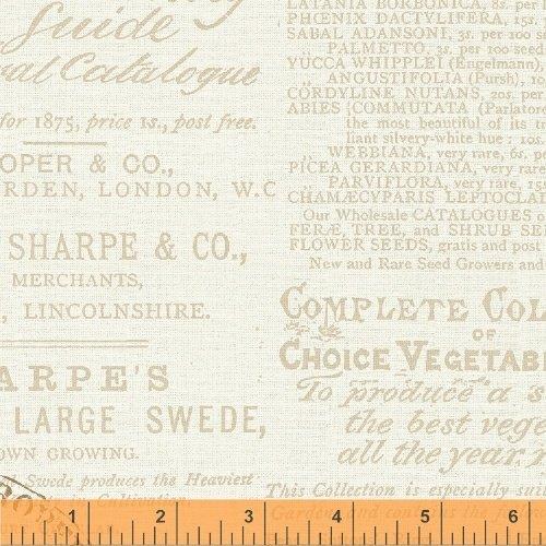 43388-1 Bookshelf Botanicals by Windham Fabrics