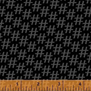 43399-1 #Textme  Back by MYKT for Windham Fabrics
