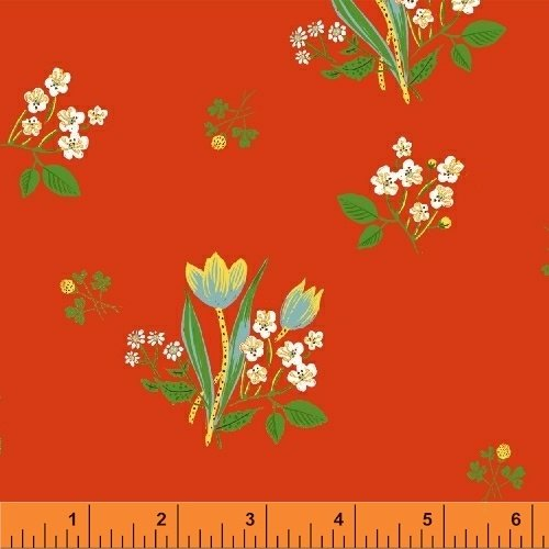 43482-2 Kinder designed by Heather Ross for Windham Fabrics