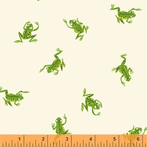 43484-3 Kinder designed by Heather Ross for Windham Fabrics