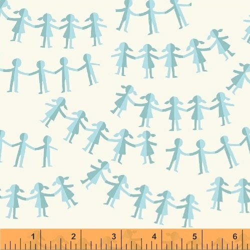 43485-4 Kinder designed by Heather Ross for Windham Fabrics