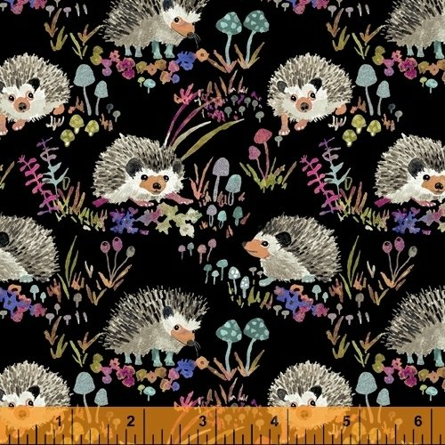 43499C-5 Fox Wood Canvas by Betsy Olmsted for Windham Fabrics
