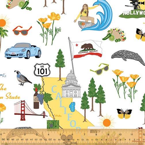 49100-X California State Fabric by Windham Fabrics