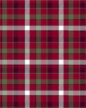 49448-2 Handsome Plaid Winterfleece by Baum Textile Mills