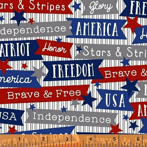 50119-1 Brave and Free by Windham Fabrics
