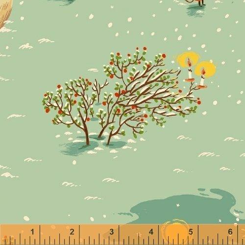50165F-1 Sugar Plum by Heather Ross for Windham Fabrics
