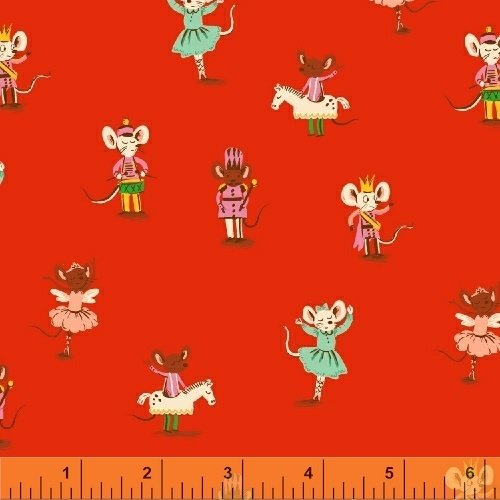 50166-4 Sugar Plum by Heather Ross for Windham Fabrics