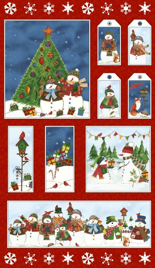50255P-X Winter Wishes by Whistler Studios for Windham Fabrics