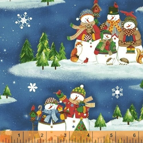 50256-1 Winter Wishes by Whistler Studios for Windham Fabrics