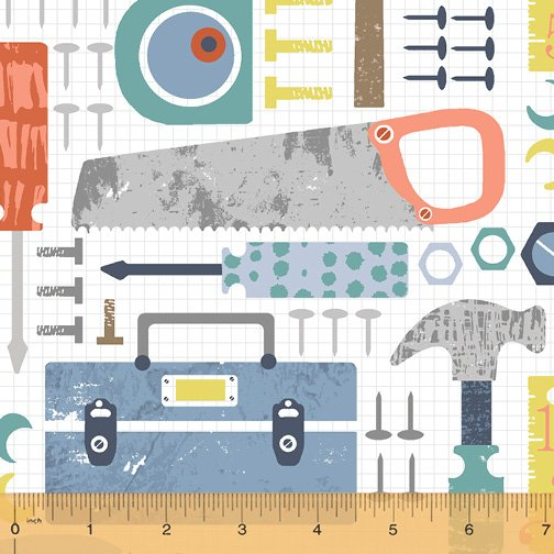 50280-2 Tool Time by Windham Fabrics