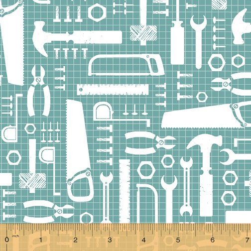 50282-3 Tool Time by Windham Fabrics