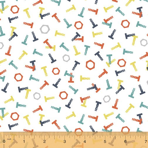 50283-2 Tool Time by Windham Fabrics