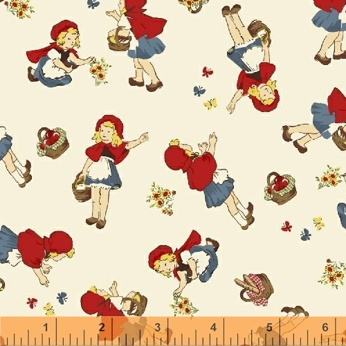 50298-1 Little Red Riding Hood by Whistler Studios for Windham Fabrics