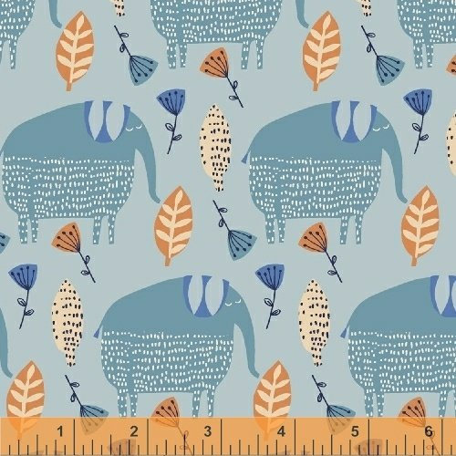 50508-1 Painted Jungle by Windham Fabrics