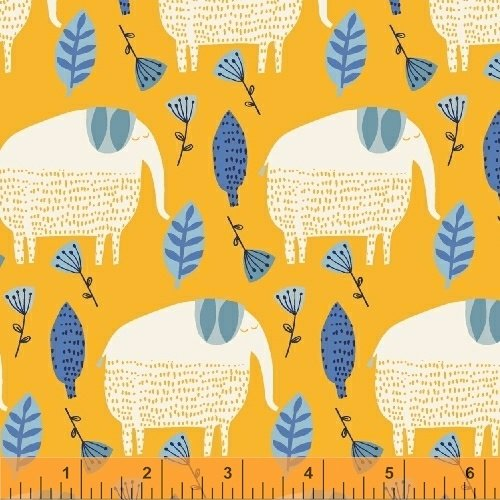 50508-3 Painted Jungle by Windham Fabrics
