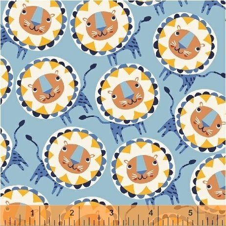 50509-1 Painted Jungle by Windham Fabrics