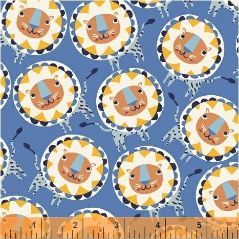 50509-4 Painted Jungle by Windham Fabrics