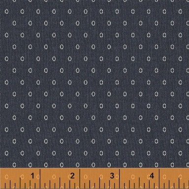 50543-2  Vintage Blue by Windham Fabrics