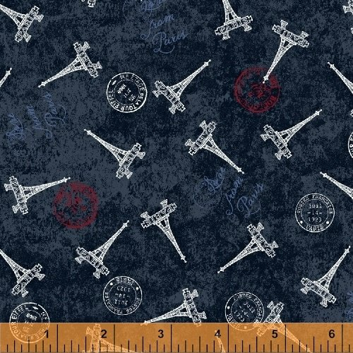 50590-4 Love from Paris by Windham Fabrics