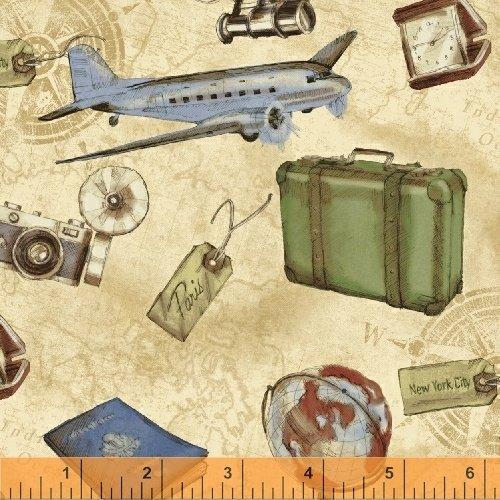 50689-3 Passport by Windham Fabrics