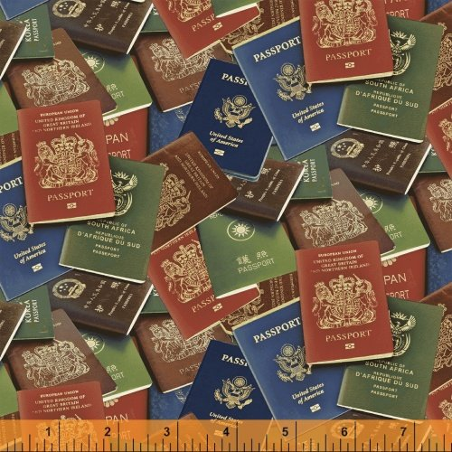 50690-X Passport by Windham Fabrics