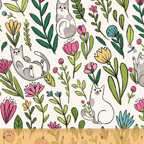 50822-1 Catnip by Windham Fabrics