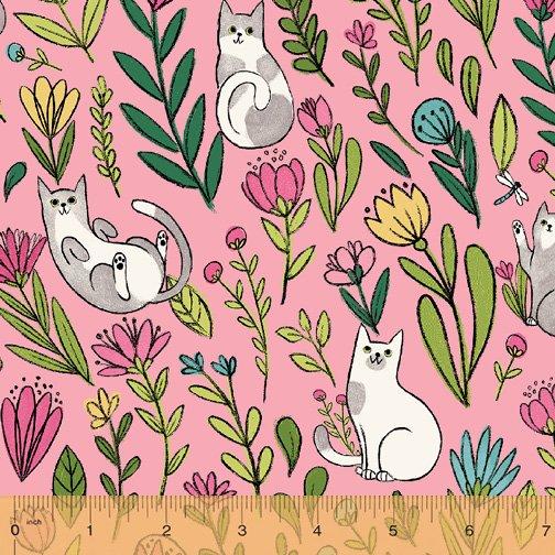 50822-2 Catnip by Windham Fabrics