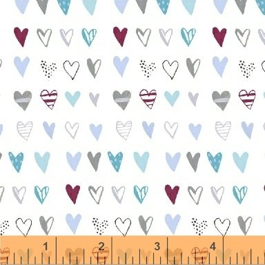 50832-1 Bah Bah Baby by Jill McDonald for Windham Fabrics