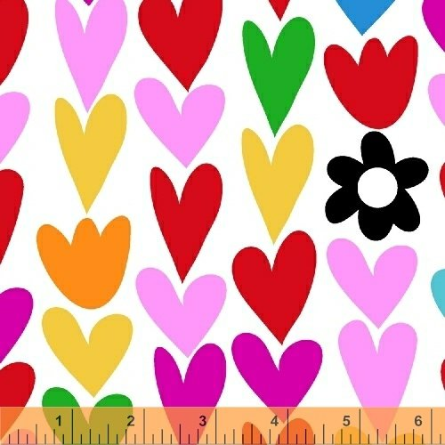 50851-2 I Heart You by Windham Fabrics