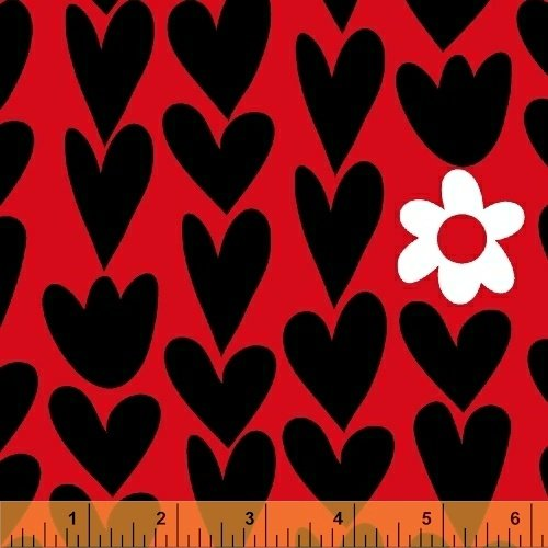50851-3 I Heart You by Windham Fabrics