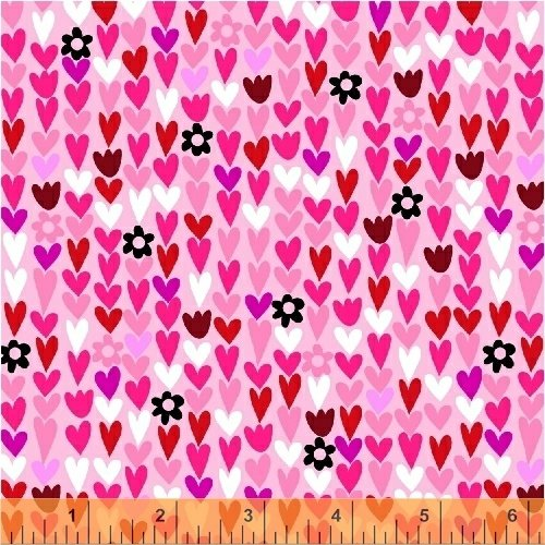 50852-4 I Heart You by Windham Fabrics