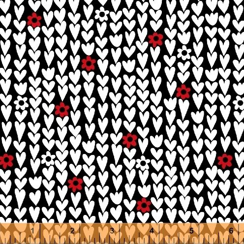 50852-6 I Heart You by Windham Fabrics