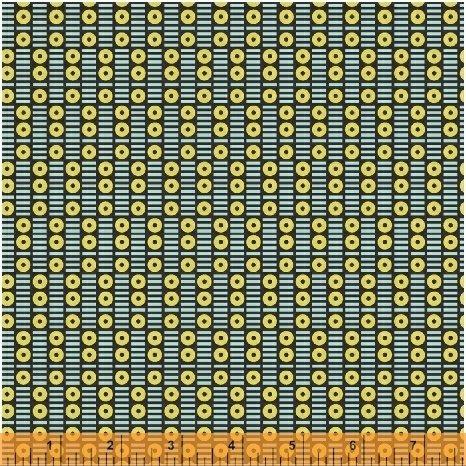 50943-4 Uppercase VOL.3 Circular Logic by Windham fabrics