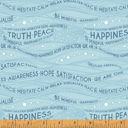 51031-4 Be Mindful by Windham Fabrics
