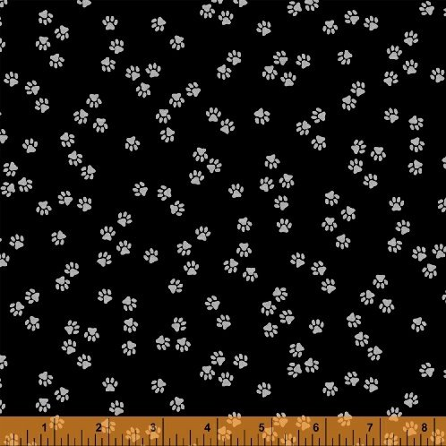 51123-2 Cat Happy by Windham Fabrics