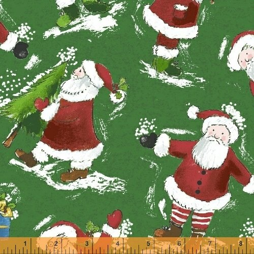 51168-2 Holly Jolly Christmas by Windham Fabrics