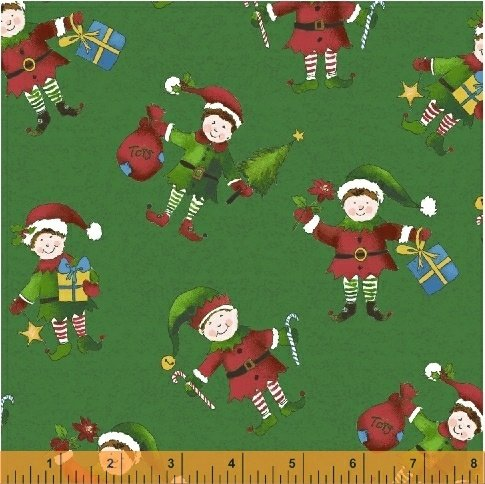 51169-2 Holly Jolly Christmas by Windham Fabrics