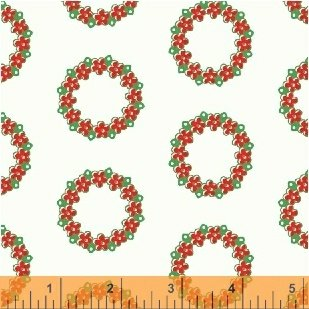 51256-3 Candy Cane Lane by Windham Fabrics