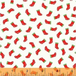 51257-3  Candy Cane Lane by Windham Fabrics