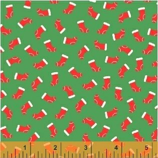 51257-4  Candy Cane Lane by Windham Fabrics