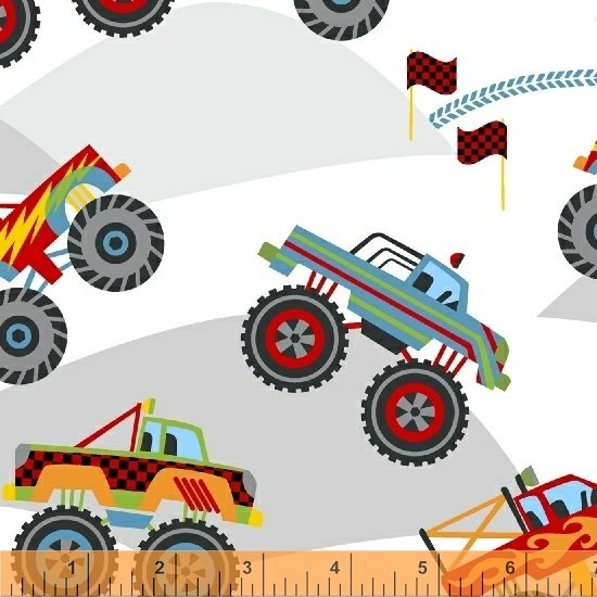 51266-1 Monster Trucks by Windham Fabrics