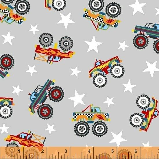 51267-3 Monster Trucks by Windham Fabrics